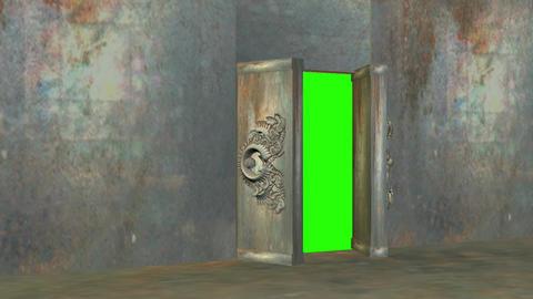 Door way 1 hd Stock Video Footage