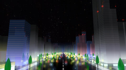 City Building NA01B HD Animation