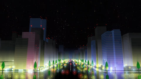City Building NA01B HD Stock Video Footage