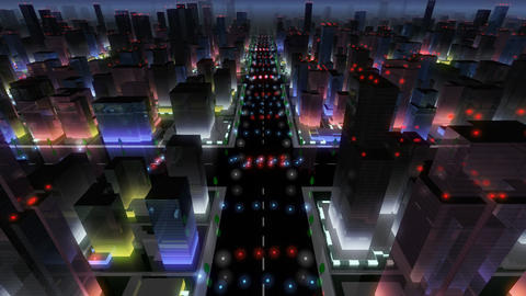 City Building At Night 0