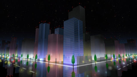 City Building NA03B HD Stock Video Footage