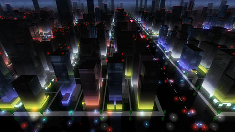 City Building At Night 2