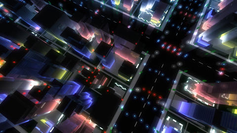 City Building NA07B HD Stock Video Footage