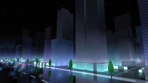 City Building NAC03B HD Stock Video Footage
