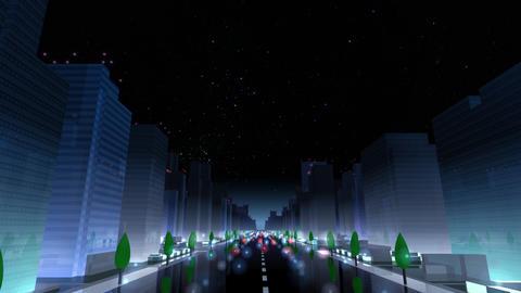 City Building NAC05B HD Stock Video Footage
