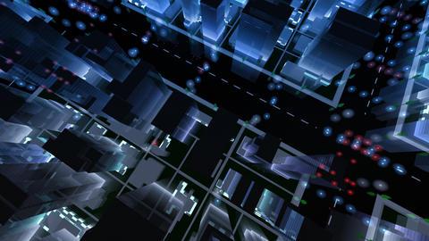 City Building NAC07B HD Stock Video Footage