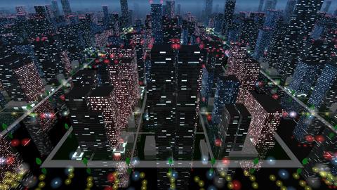 City Building NB04B HD Stock Video Footage