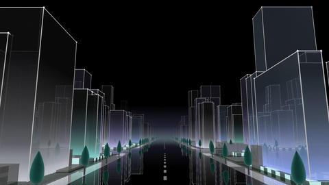 City Building NC01B HD Stock Video Footage