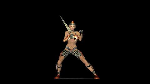 Warrior 1 Animation