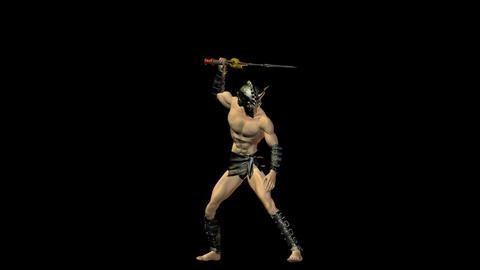 Gladiator 2 Stock Video Footage