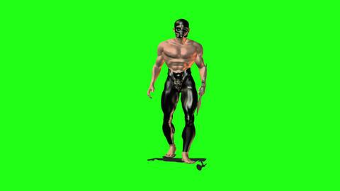 Axe man 1 Animation