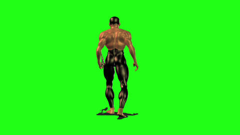 Axe man 3 Animation