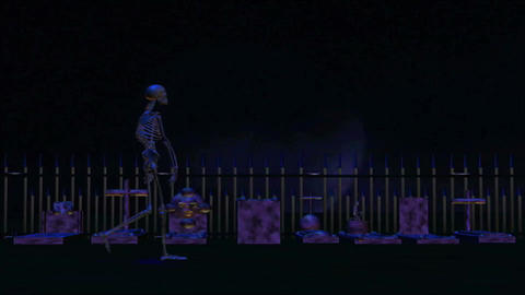 Grave Yard 8 HD Animation