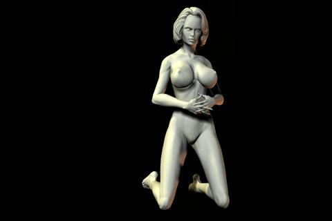 statue 23 obj 3D Model