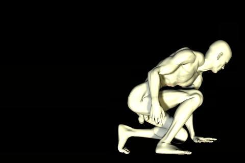 statue 24 obj 3D Model