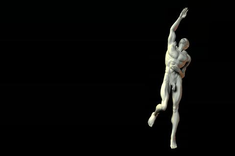 statue 28 obj 3D Model