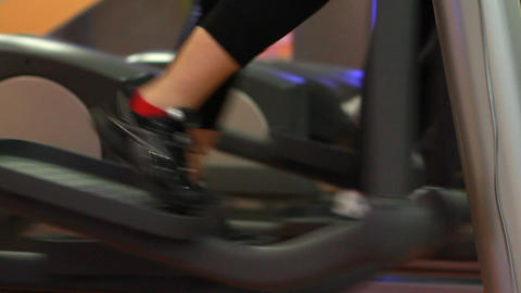 people doing sports in a gym 2 Stock Video Footage