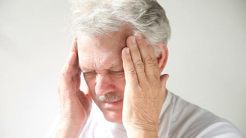 Headache Pain stock footage