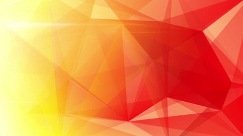 abstract triangle geometrical red background loop Animation