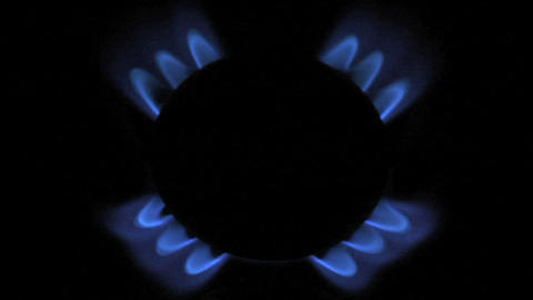 gas flame 07 Stock Video Footage