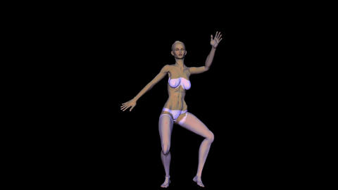 Dancer 2 Stock Video Footage
