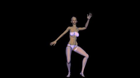 Dancer 2 Stock Video Footage