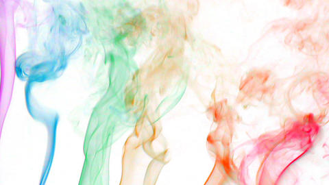 color smoke 02 Stock Video Footage