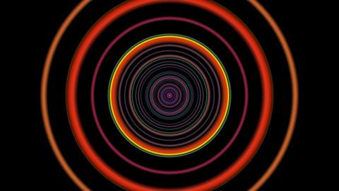 vj loop circle 01 Stock Video Footage
