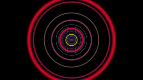 vj loop circle 01 Animation