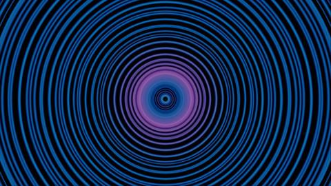 vj loop circle 03 Stock Video Footage