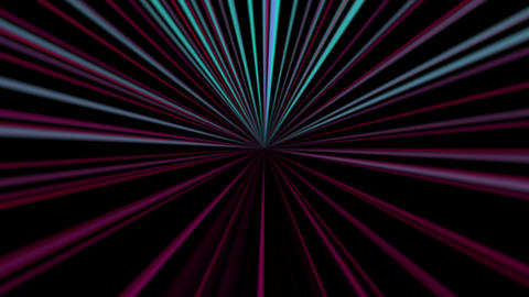 vj loop star 01 Stock Video Footage