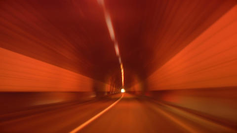 tunnel abstract speed 01 Stock Video Footage