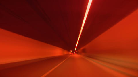 tunnel abstract speed 03 Footage