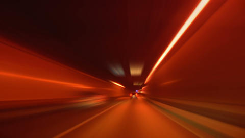tunnel abstract speed 03 Stock Video Footage