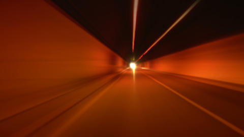 tunnel abstract speed 05 Footage