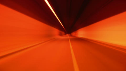 tunnel abstract speed 07 Footage