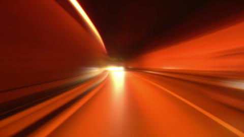 tunnel abstract speed 07 Stock Video Footage