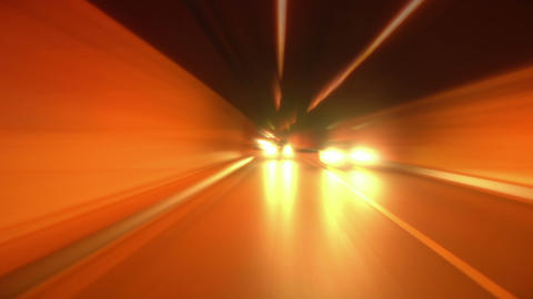 tunnel abstract speed 09 Stock Video Footage