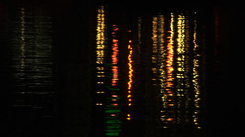 water reflection 03 Stock Video Footage