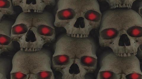 Skulls 7HD Stock Video Footage