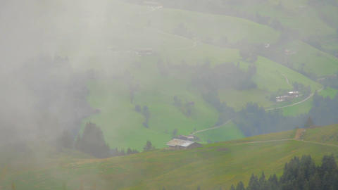 In The Alps 08 Clouds Timelapse Footage