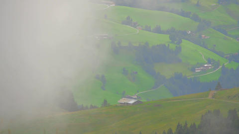 In The Alps 08 Clouds Timelapse Stock Video Footage
