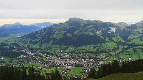 InThe Alps 18 Kitzbuehel In the Valley Footage