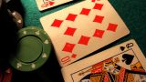 Poker 29 Dolly Left stock footage
