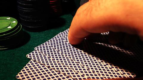 Poker 82 showdown royal Stock Video Footage