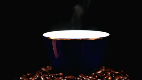 Loop coffee beans Stock Video Footage