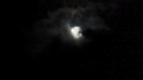 Full moon 2 Stock Video Footage