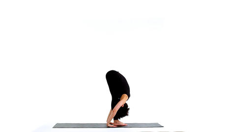 Sun salutation asana part1 Footage