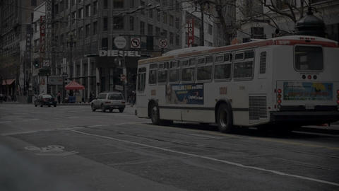 San Francisco time lapse Stock Video Footage