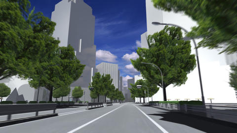 City 5A1 HD Animation